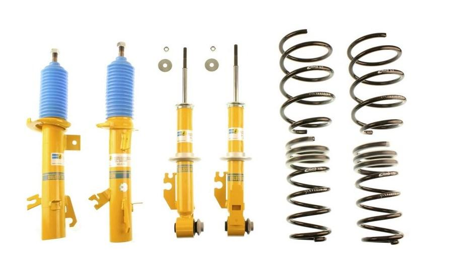 Комплект амортизаторов + пружины Eibach Pro-Kit для Audi A4 B5