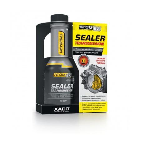 Средство для остановки течи трансмиссионного масла XADO Atomex Sealer transmission 250мл