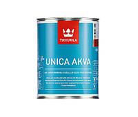 Эмаль акриловая TIKKURILA UNICA AKVA универсальная база C 0,9л
