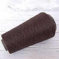 Кашемир 70%, шелк 30% Cariaggi Jaipur  коричневый меланж