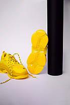 Женские кроссовки в стиле Balenciaga Triple S Clear Sole Yellow, фото 2