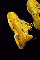 Женские кроссовки в стиле Balenciaga Triple S Clear Sole Yellow, фото 3