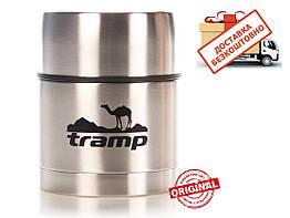 Термос 0,5 Tramp з широким горлом TRC-077. Харчовий термос. Термос для їжі.