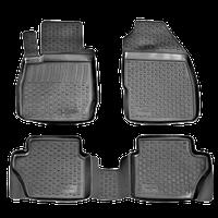 Коврики в салон Ford Fiesta (08-) (полимерные) L.Locker, фото 1