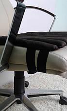 Накидка на кресло руководителя черная, фото 3