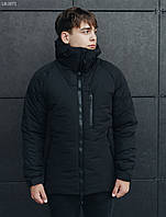 Мужская зимняя куртка Staff mil black