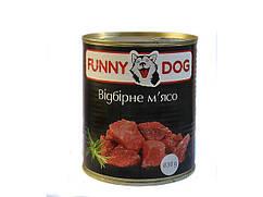 Консерва Funny Dog 525г