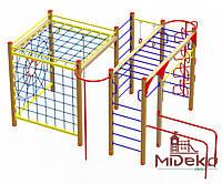 """Гімнастичний комплекс """"Ярема з сітками"""" МИДЕКО, фото 1"""