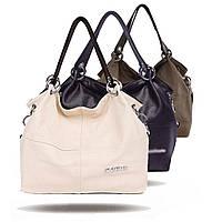 Женская кожаная сумка через плечо Weidipolo