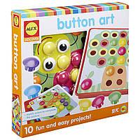 Детская мозаика для малышей ALEX Toys Little Hands Button Art