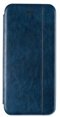 Чехол книжка Leather Gelius для Huawei P30 Lite Blue