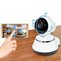 Панорамная wifi камера видеонаблюдения 2 mp 360, Видео-няня, камера умный Робот, оповещение, сигнализация