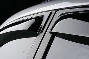 Дефлекторы окон (ветровики) Subaru Outback 15-