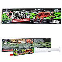 Инсектицид Ultra Magic шприц-гель от тараканов, муравьёв, 35 г