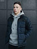 Мужская зимняя куртка Staff retro dark and navy