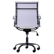 Кресло Slim Net LB (XH-633B) белый, фото 3