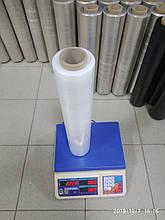 Стретч плівка для ручного пакування 15 мкм 2,0/2,2 кг прозора, первинна