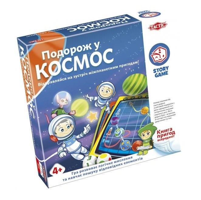 Настольная игра Tactic Путешествие в космос (55686) (6416739556864)