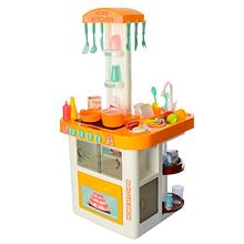 Кухня с водой 889-60 оранжевая, 40 предметов