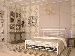 Металлическая кровать в спальню Винтаж