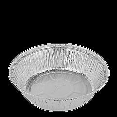 Контейнер круглый из алюминиевой фольги 800мл (T51L), 100шт/12уп/ящ 178*43