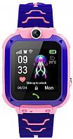 Детские смарт часы Smart Baby Watch Q12 Pink