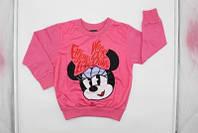 Кофта для девочек оптом, Disney, 3-8 лет,  № MIN-G-JOGTOP-125
