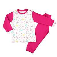 Детская пижама с манжетами на штанах, на рост - 92-98 см. (арт: 9-07-21)