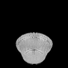 Контейнер круглый из алюминиевой фольги 135мл (T20L), 150шт/30уп/ящ 78*38