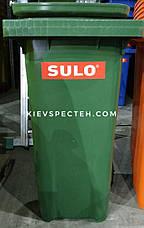 Контейнер пластиковий SULO EN-840-1/ 240 л, фото 3