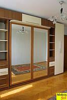 Двухспальная шкаф-кровать с зеркалами, фото 1