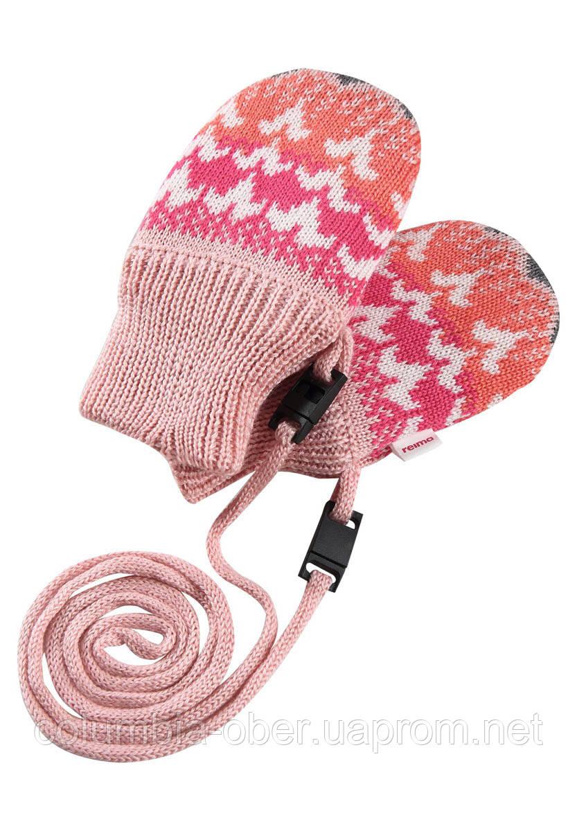 Зимние варежки для девочки Reima Tresor 517195-3227. Размер 0 и 1.