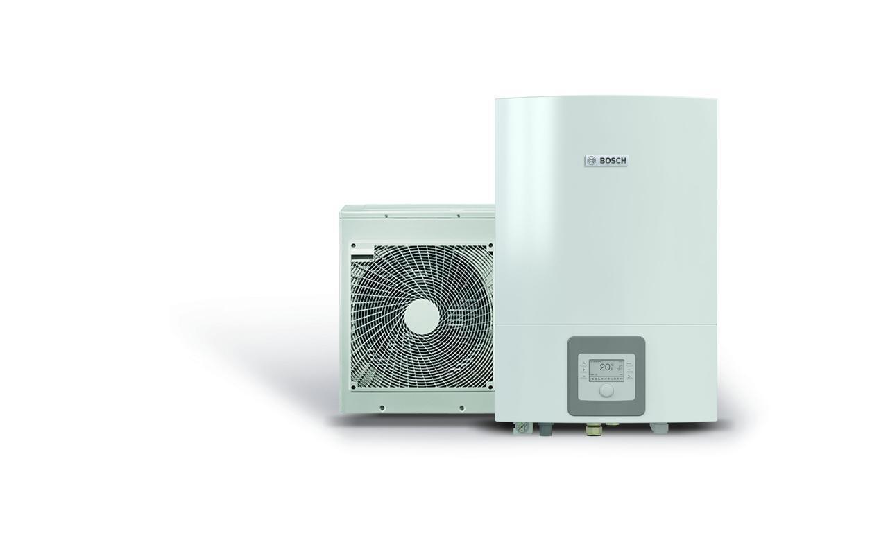 Воздушный тепловой насос воздух-вода BOSCH Compress 3000 AWES,15 кВт