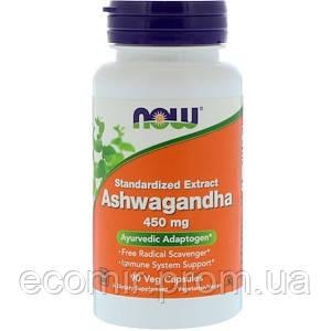 Ашвагандха, Now Foods (450 мг/ 180 капсул)