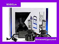 Светодиодные лампы LedT6-H4 LED (ближний/дальний) 6000 K/ 35 W