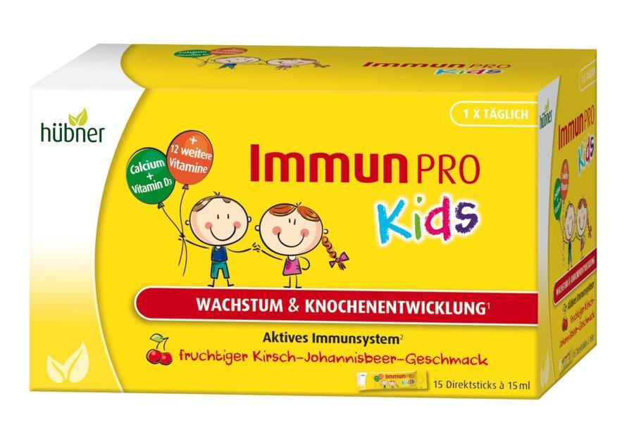Витамины для детей hübner Immun Pro Kids, 15 шт.