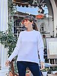 Женский вязаный теплый свитер свободного кроя (в расцветках), фото 3