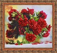 Набор для вышивания бисером Пионы (по фотоработе Никончук Д.В.) Р-030
