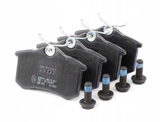 Тормозные колодки зад TRW для A3,A4 B5,B6, VW Passat,Golf