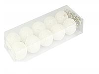 Гирлянда тайская декоративная LTL Cotton Balls 10led, диам 6см, длина 180см на батарейках АА
