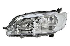 Фара передняя Peugeot 301 2012- левая H7/H1+днев.свет, мех/авт. 550-1158L-LDEMN
