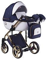 Дитяча універсальна коляска 2 в 1 Adamex Luciano Polar Gold Y809