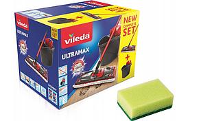 VILEDA ULTRAMAX BOX набор швабра + ведро + отжим