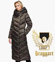 Воздуховик зимний женский капучино Braggart Angel's Fluff 31016
