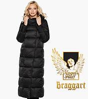 Воздуховик женский зимний черный Braggart Angel's Fluff 31056
