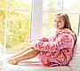 Детский халатик Мишутка Eirena Nadine (22-625) на рост 122 Розовый, фото 7