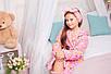 Детский халатик Мишутка Eirena Nadine (22-625) на рост 122 Розовый, фото 8