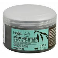 Гоммаж бельди с эвкалиптом (черное мыло) 180г - Savon noir Najel