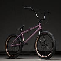 Велосипед BMX Kink Launch 20.25 матовый сиреневый 2020