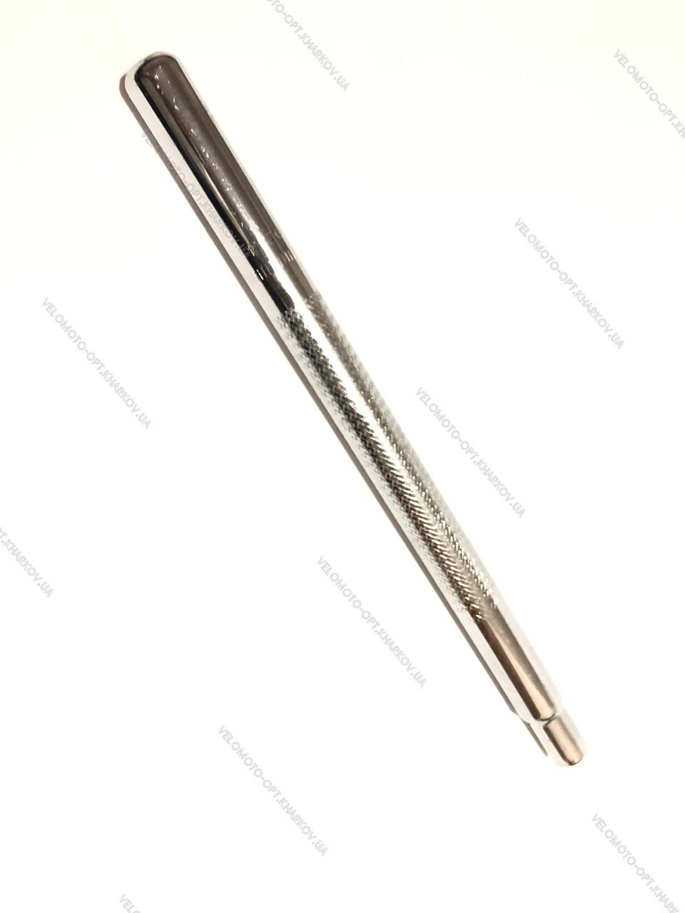 Подседельная труба 25,4 х400мм, усиленная хорошего качества, серебро